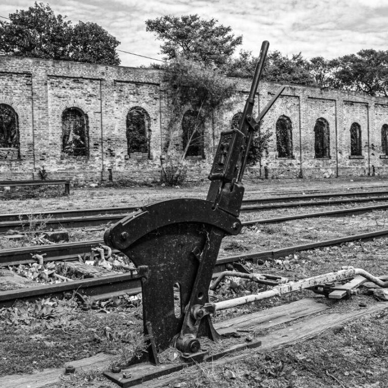 Fotos ferrocarril Río Segundo Córdoba. Foto: Roque VIelmetti